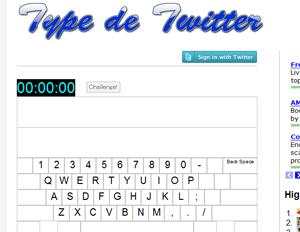 Type de Twitter