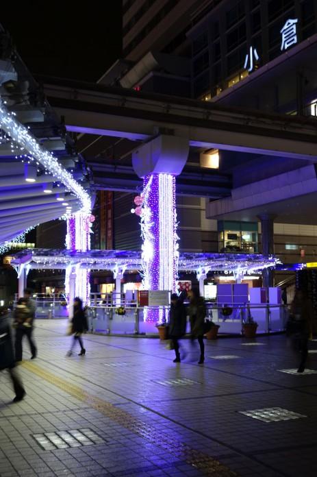 JR小倉駅-イルミネーション
